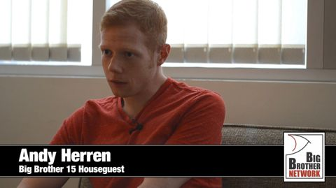 Andy Herren - Big Brother 15 HG