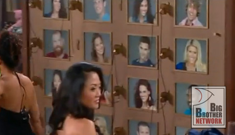 Big Brother 15 week 1 memory wall