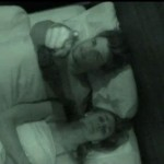 Jeremy & Kaitlin in bed