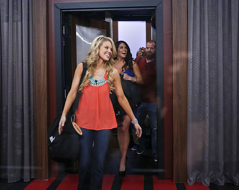 Aaryn Gries enters Big Brother 15