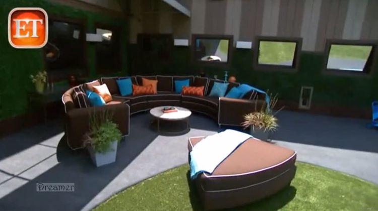 Big Brother 15 backyard