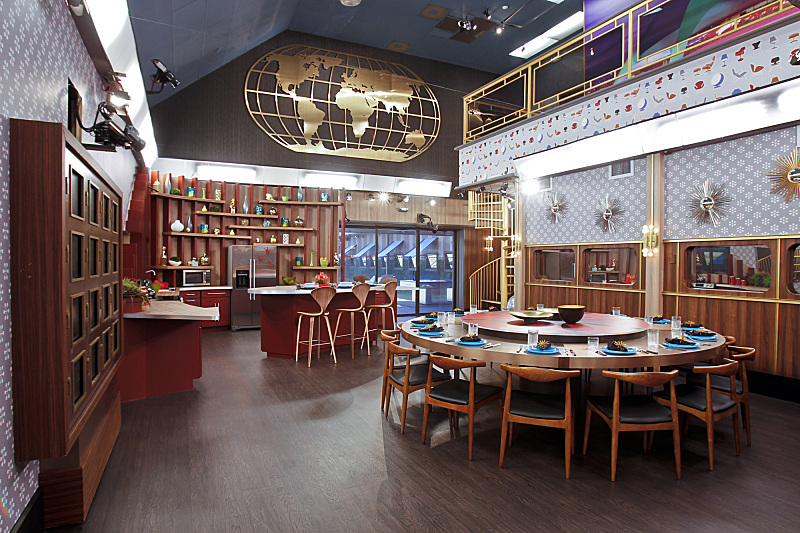 Big Brother 15 Dining Room Big Brother Network