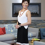 BIG BROTHER 15 - Julie Chen with the fireplace