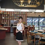 BIG BROTHER 15 - Julie Chen in the dining room