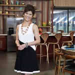 BIG BROTHER 15 - Julie Chen in the kitchen