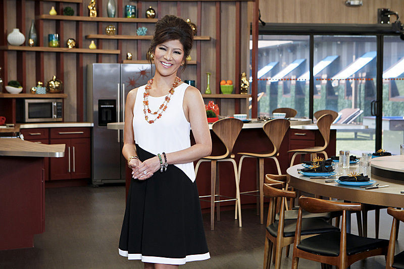 BIG BROTHER 15 – Julie Chen in the kitchen