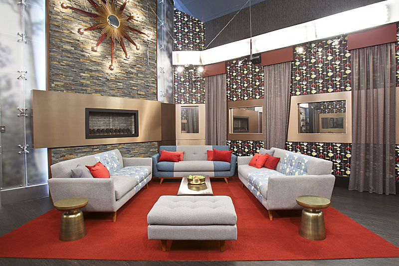 Big brother 15 living room big brother network for Big houses inside