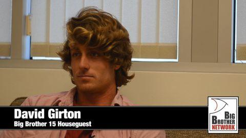 David Girton - Big Brother 15 HG
