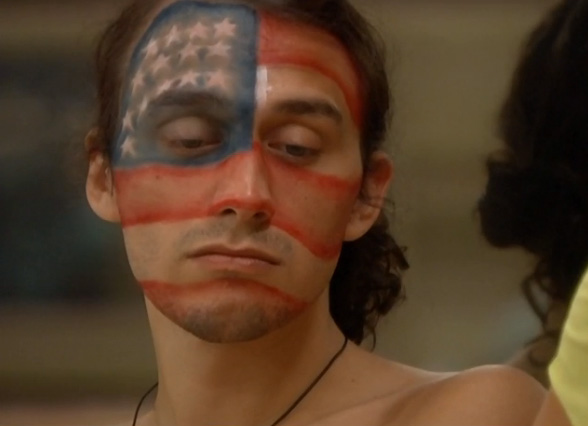McCrae's face paint