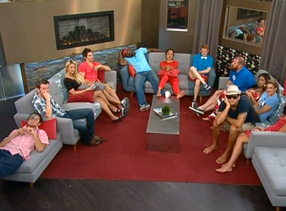 BB15 HGs in living room