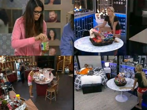 Big Brother 15 quad view