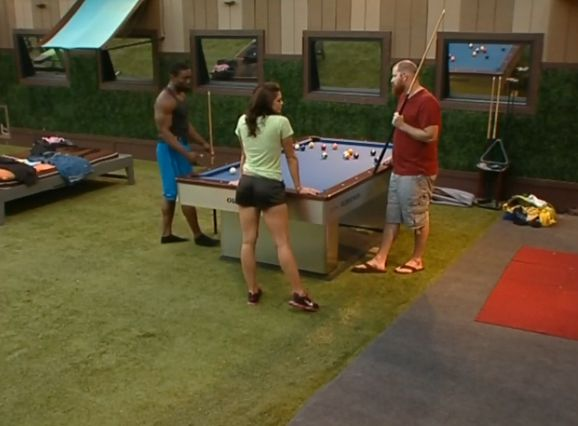 ... » Big Brother 15 house meeting – Spencer, Howard, & Kaitlin