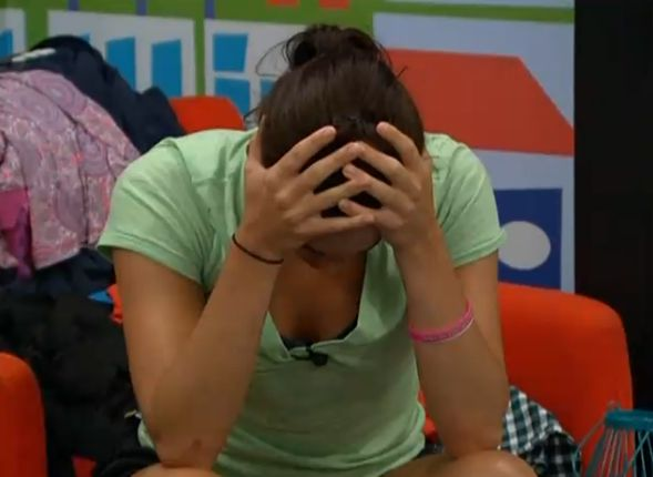 Big Brother 15 house meeting – Kaitlin