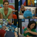 Big Brother 15 house meeting - Quad