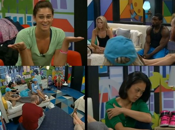 Big Brother 15 house meeting – Quad