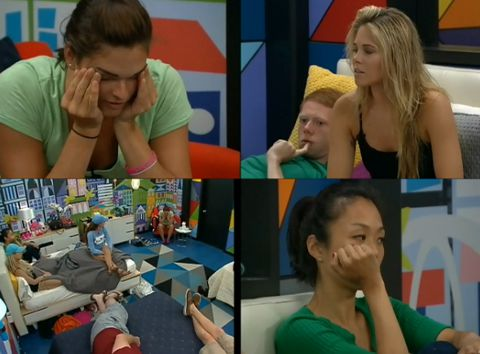 Big Brother 15 house meeting