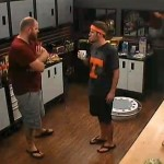 Spencer talking to Judd
