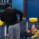 Howard talking to Judd