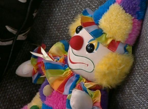 Aaryn's clown