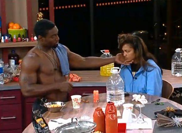 Howard talks to Candice