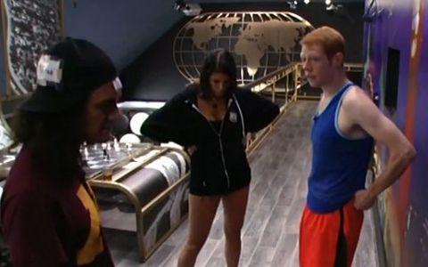 McCrae, Amanda, & Andy panic