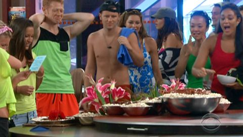 Big Brother 15 Have-Not Food