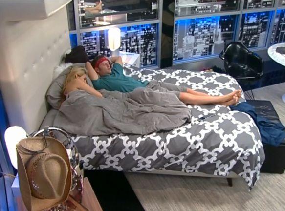 Aaryn and Judd flirt in HoH room 01