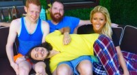 Andy, Spencer, GinaMarie, and McCrae on Big Brother 15