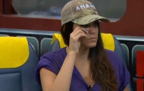Amanda crying