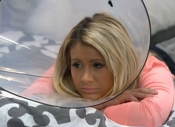 GinaMarie and her Cone of Shame