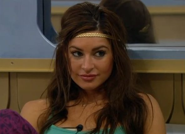 Elissa preparing for the Veto