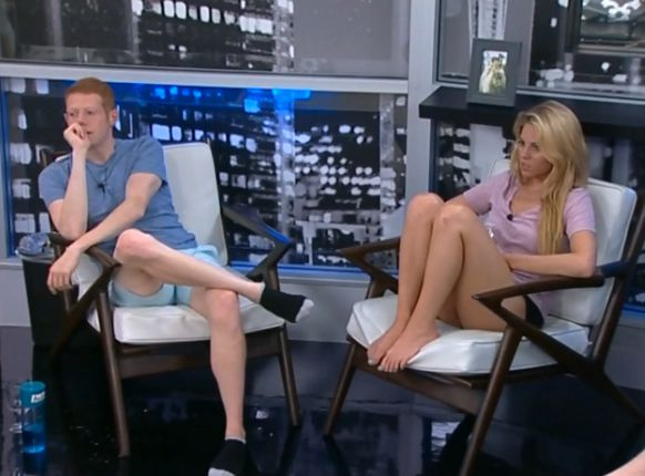 Andy and Aaryn in the HoH