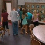 Big Brother 15 Noms ceremony finishes
