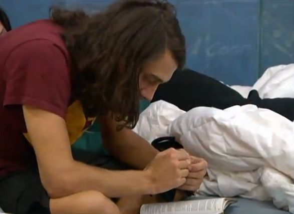 Big Brother 15 Noms ceremony – McCrae on the block