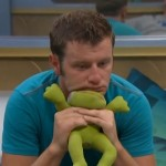 Judd with his frog