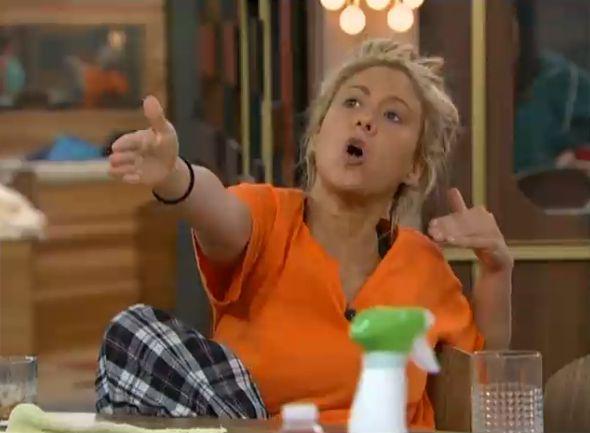 GinaMarie yelling at Amanda