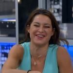 Elissa laughing at Amanda