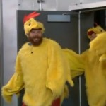 Spencer and Judd debut their chicken suits