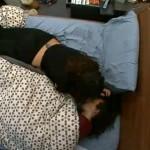 Amanda consoles McCrae