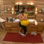Amanda and McCrae hug