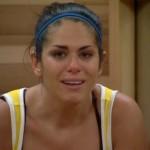 Amanda cries after losing Veto