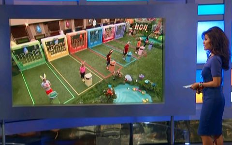 Big Brother 15 endurance comp Week 10