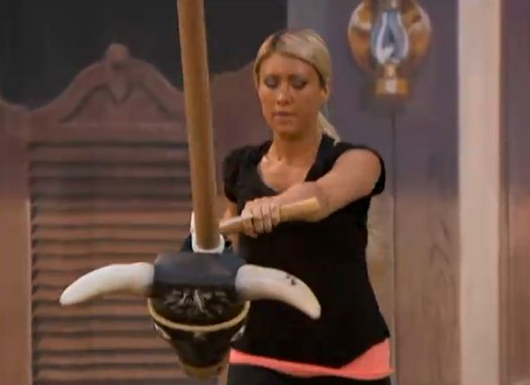 Big Brother 15 HoH comp GinaMarie