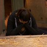 Big Brother 15 HoH comp Amanda stressed