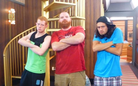 Big Brother 15 HG: Andy, Spencer, & McCrae