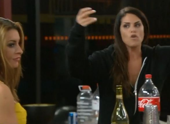 Big Brother 15 – Amanda and Candice fight 02