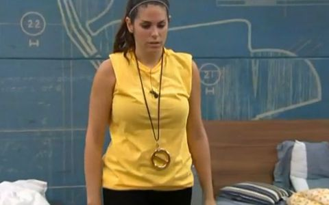 Amanda wins the Veto