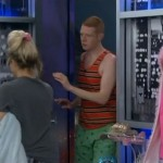 Andy pops in to the HoH room