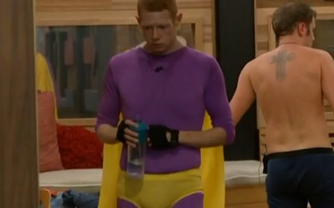 Andy in his Veto costume