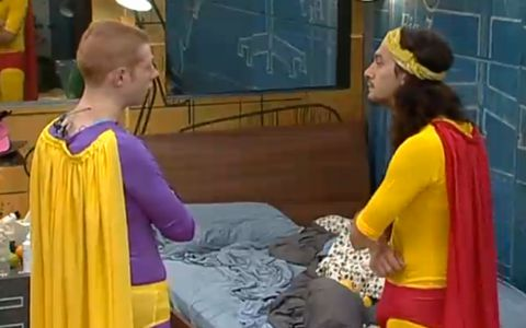 Andy and McCrae are superheroes on Big Brother 15